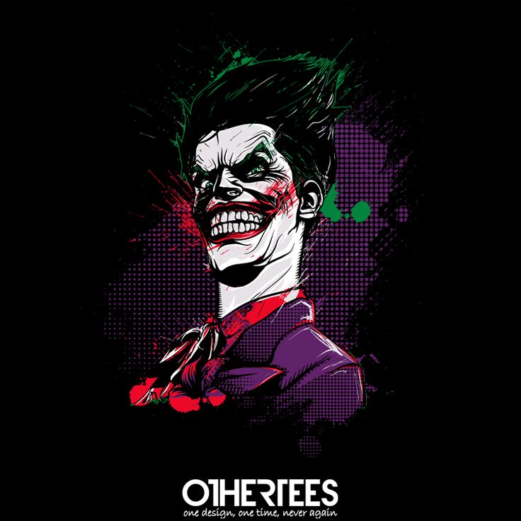 """Why so serious?"" by donnie T-shirts, Tank Tops, Sweatshirts and Hoodies are on sale until 14th October at www.OtherTees.com Pin it for a chance at a FREE TEE! #batman #joker #gothamcity #gotham #whysoserious #dccomics #dc #comics"