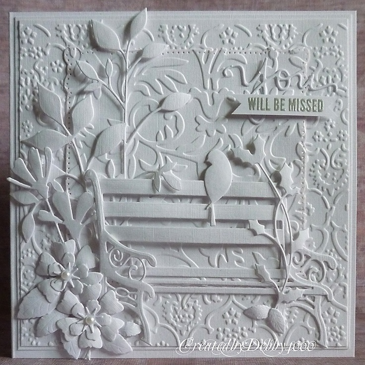 A Scrapjourney: White on White. Absolutely gorgeous!