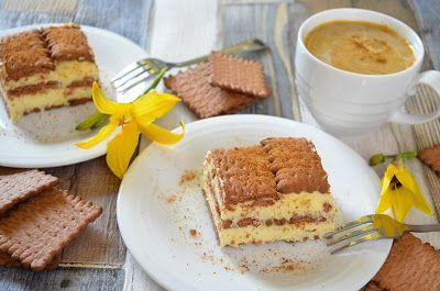 Aga w kuchni: Ciasto adwokat- ciasto bez pieczenia