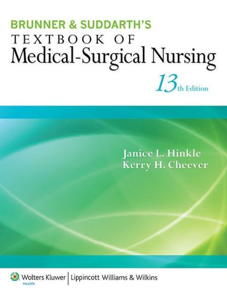 medical surgical nursing brunner and suddarth pdf