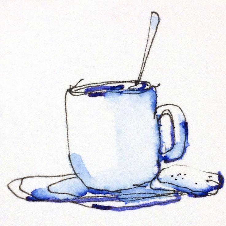 Fountainpen illustration