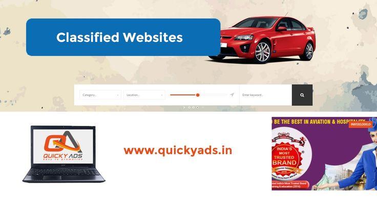 Quicky Ads - Best Classified site to post free ads    Choose your categories and post your business needs / services online.   Check us out @https://goo.gl/CYsUzS to register and get promoted!   #Postads #Freeclassifedsites