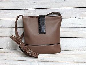 Женская сумка из кож-заменителя: выкройка и мастер класс по шитью