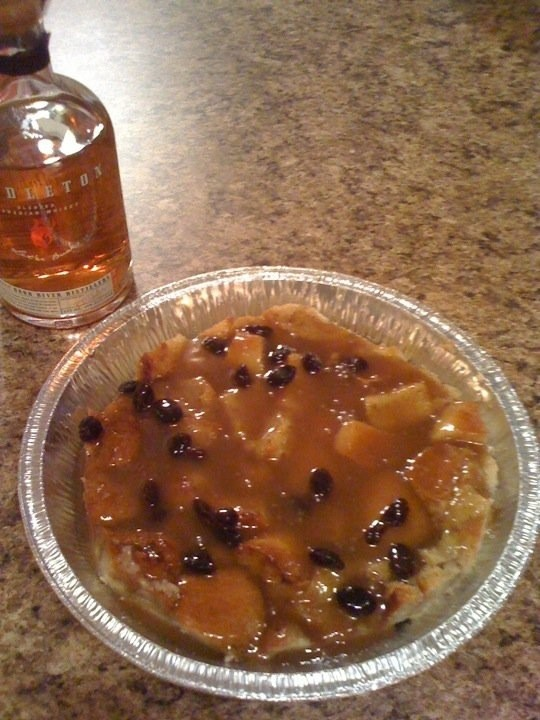 Bread pudding with bourbon sauce | army | Pinterest