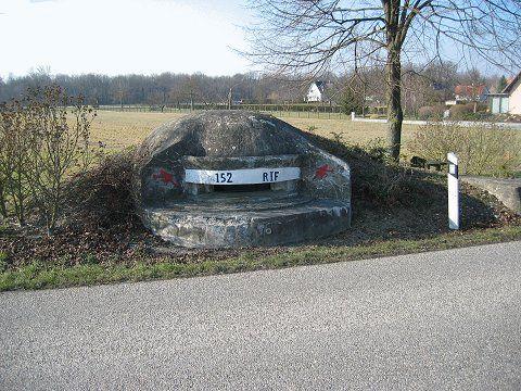 Blockhousemomderichtolsheim - Maginot Line - Blockhouse MOM (Main d'Oeuvre Militaire) de Richtolsheim – Secteur Fortifié de Colmar – Sous secteur de Hilsenheim