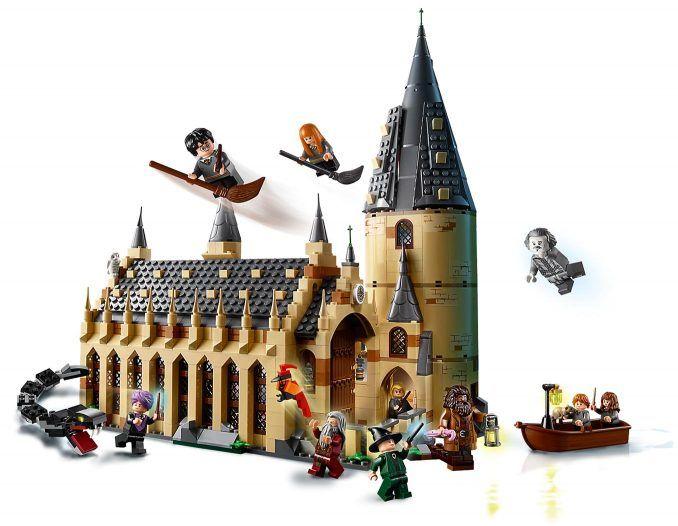 Lego Harry Potter Hogwarts Great Hall 75954 Hogwarts Great Hall Lego Hogwarts Lego Harry Potter