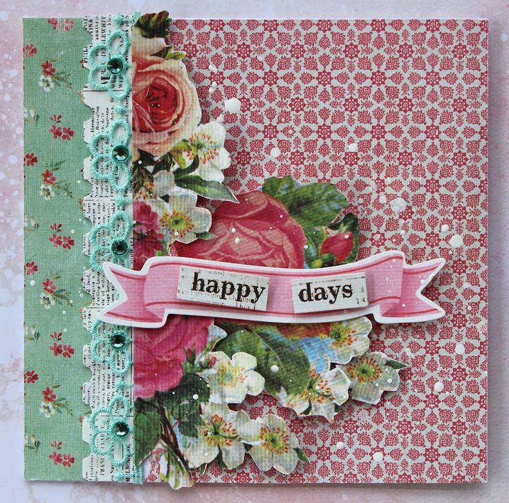 Happy Days - Kaisercraft DT - Scrapbook.com