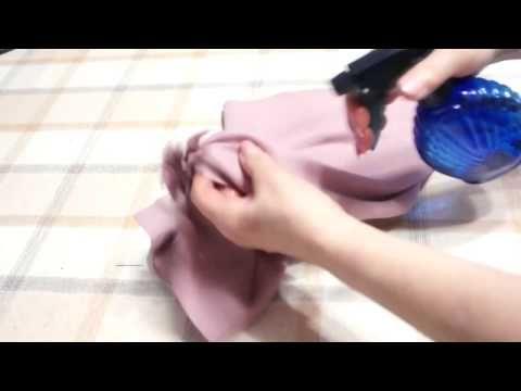 Как обработать низ косой юбки - YouTube