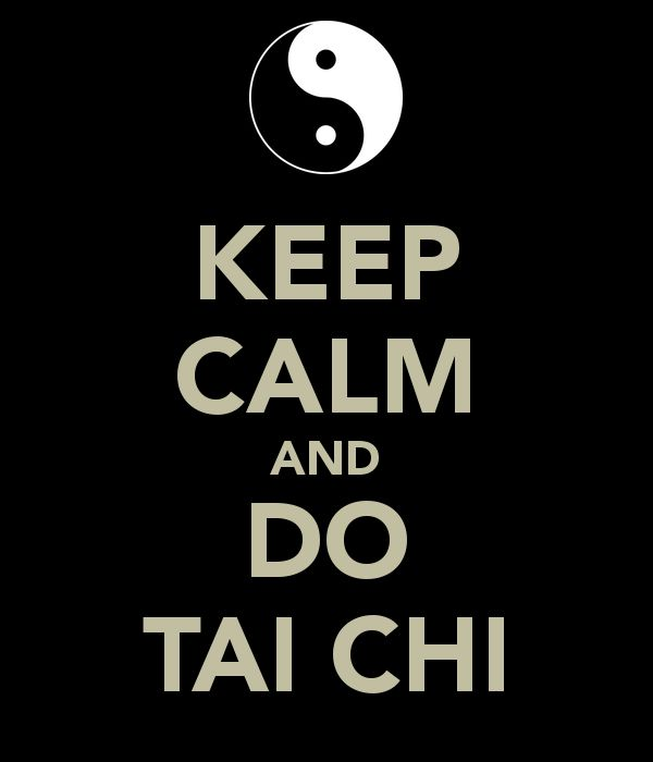 KEEP CALM AND DO TAI CHI