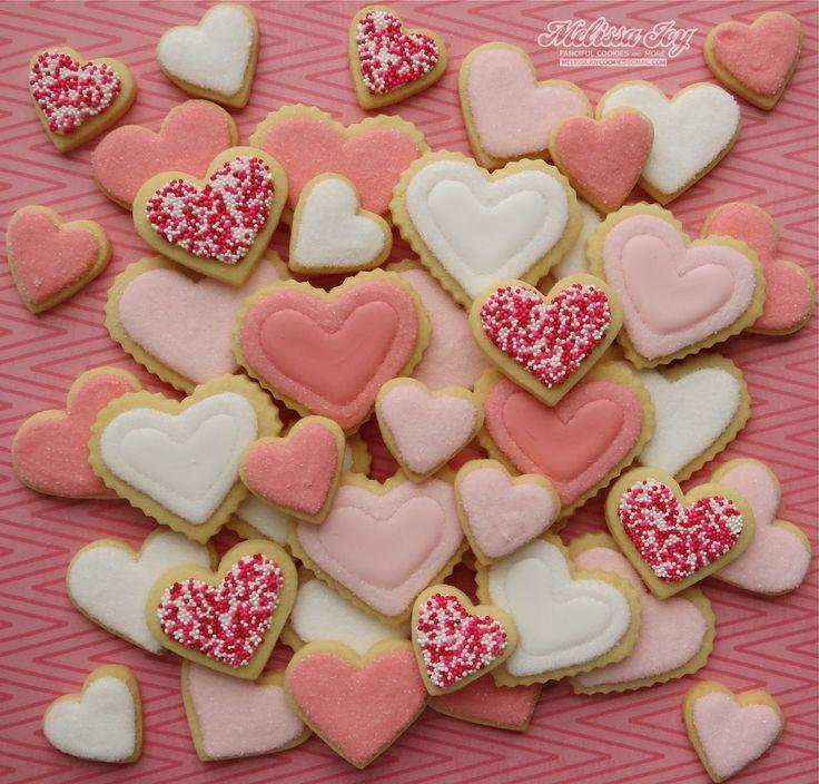 52 best Valentine\'s Day Cookies images on Pinterest | Sugar ...