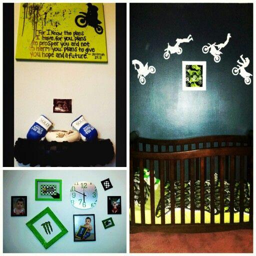 10 best Moto decor images on Pinterest   Kidsroom, Boy nurseries ...