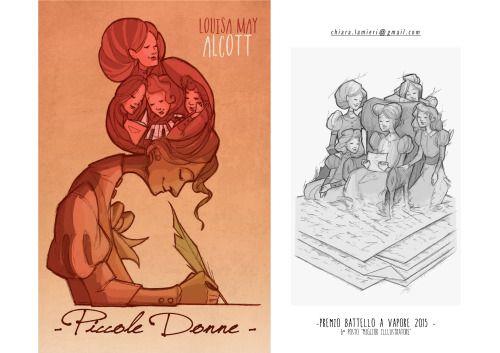 "Book Cover ""Little Women"" Premio ""Battello a Vapore"" 2015 6° posto ""Miglior Illustratore""  PiemmeEdizioni  ChiaraLamieri Illustrator   chiara.lamieri@gmail.com http://chiaralamieri.tumblr.com/ https://www.instagram.com/chiara_lamieri"