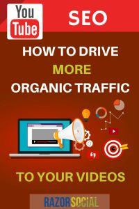 YouTube SEO - How to Drive More Organic Traffic to Your Videos - @RazorSocial