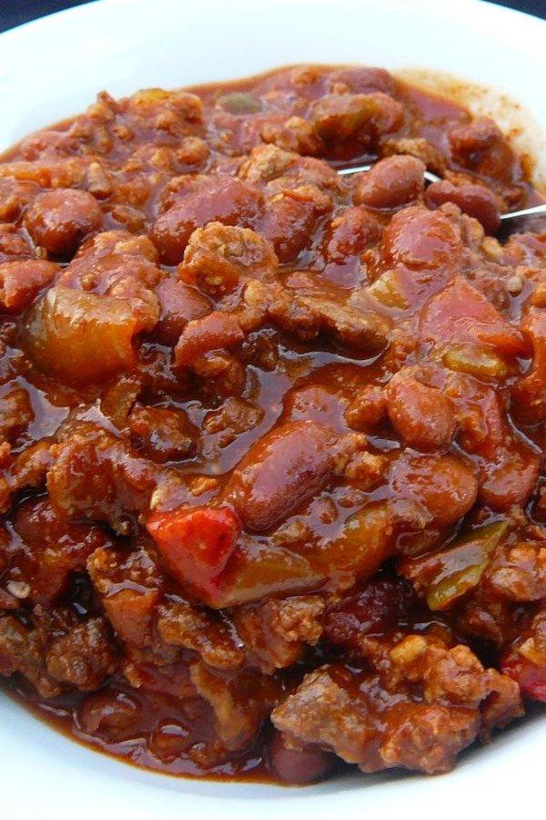 Boilermaker Tailgate Chili Recipe Chili Recipes Chilli Recipes Tailgate Chili