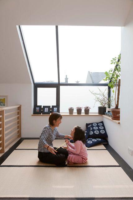 Modernizing a Japanese Tatami room.