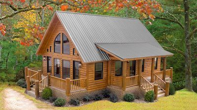 🦌Log cabins you can call home. Why wait for the…
