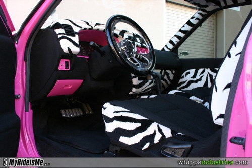 31 best zebra print for my car images on pinterest zebra print car stuff and auto accessories. Black Bedroom Furniture Sets. Home Design Ideas