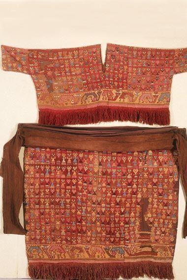 Traje de Cultura prehispanica peruana Chimu