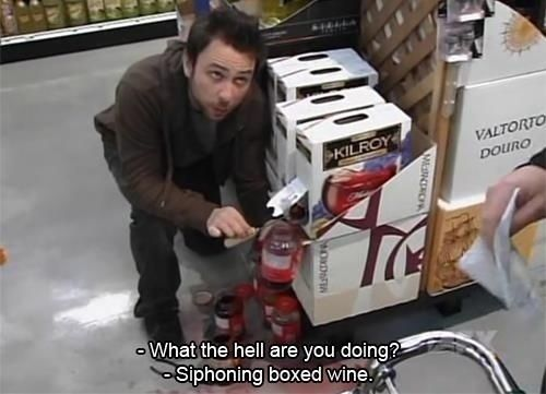 You steal. | 29 Bad Habits You Picked Up From Charlie Kelly