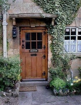 storybook cottage door