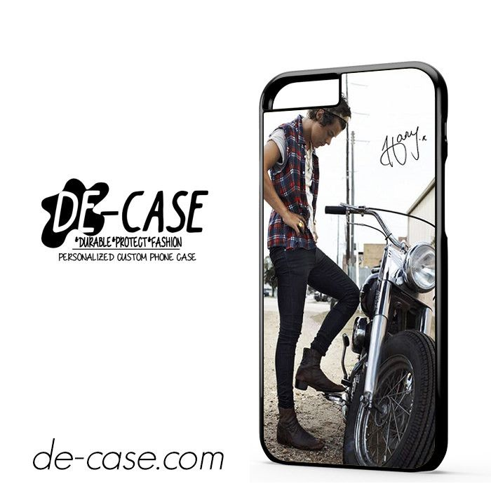 Harry Styles And His Bike DEAL-5163 Apple Phonecase Cover For Iphone 6 / 6S