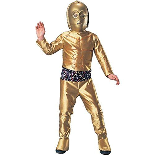 deluxe c 3po large 3999 only on amazon halloween costumes - Kids Halloween Costumes Amazon
