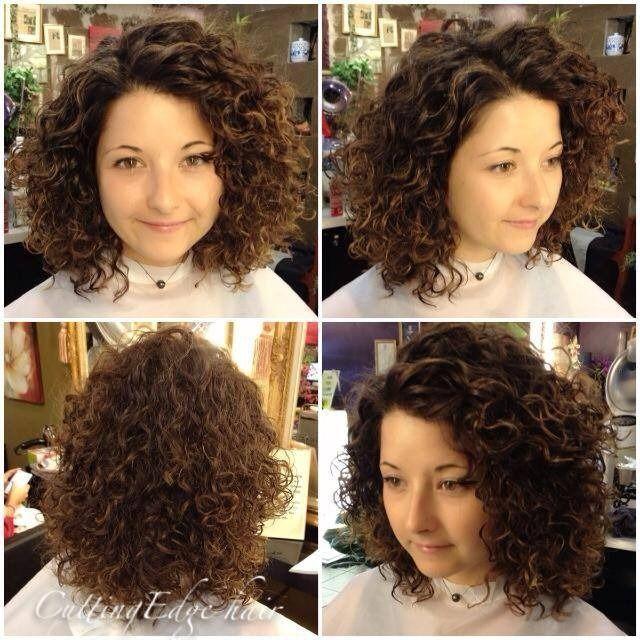 Shoulder Length Hair Perm Before And Aft Aft Hair Length Perm Shoulder In 2020 Permed Hairstyles Medium Hair Styles Hair Lengths