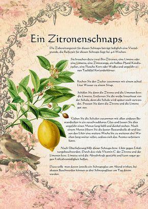Ein Zitronenschnaps                                                       …                                                                                                                                                                                 Mehr
