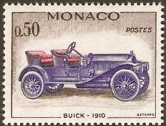 Monaco 1961 50c Buick.