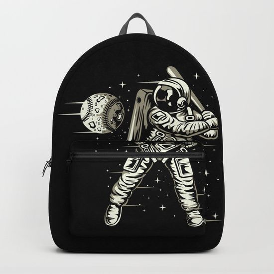 Space Baseball Astronaut