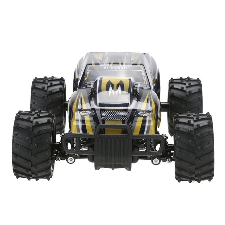 Four-wheel Drive Electric RC Car 1:16 Scale 2WD Off Road Model Car High Speed Remote Control Car Toy Speed Up to 18KMH
