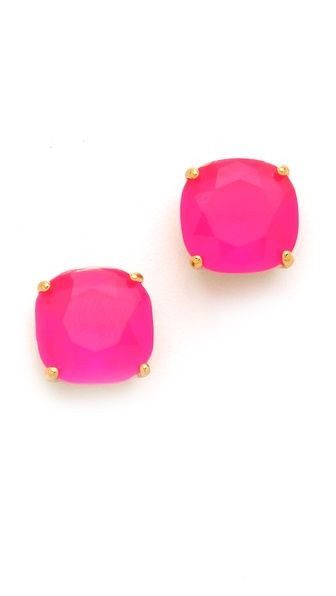 hot pink studs