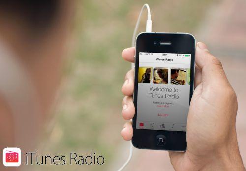 iOS7, aperçu de iTunes Radio