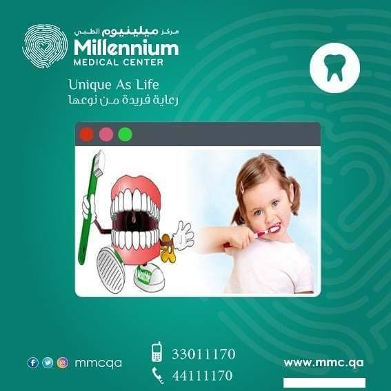 اذا اعتنيت بأسنانك الان سوف تعتني بك أسنانك مستقبلا  Take care of your teeth and they will take care of you للحجز :44111170 /33011170 #MillenniumMedicalCenter#mbm #qatar #dental_clinic ##dental #doha #clinic #pediatricdentistry #pediatricdentist #tooth #teeth #dental_student #pediatric_dentistry #pediatric_dentist #dentalschool #dental_clinic #dentalschoollife #dentalassistant #extractions #milky_teeth #patient #helthcare #dentalhygienist #oralhelth #oralhelthcare #قطر#الدوحة ##أسنان…