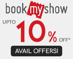 BookMyShow Is Offering Great Offers on Movie Tickets