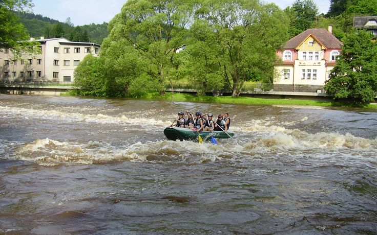 River rafting with Czech Adventures