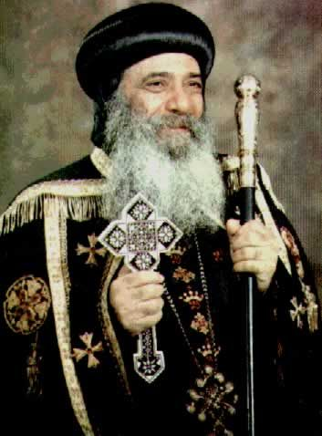 Pope Shenouda III + Departure: March 17, 2012 + Pope Shenouda III was the 117th Pope of Alexandria from 14 November 1971 - 17 March 2012. He was a gifted preacher, a talented author, a spiritual father, a man of God. Click on this website for a full biography of Pope Shenouda III in English and to access books written by Pope Shenouda III (translated into English) http://www.copticchurch.net/topics/pope/#Biography