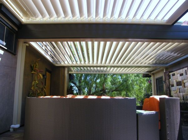 louvered patio cover kits   Equinox Louvered roof patio cover design and  installation project #2 - 17 Best Images About Louvred Roofs On Pinterest Deck Pergola