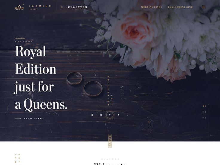 Jasmine web site by Andrej Krajčir #Design Popular #Dribbble #shots