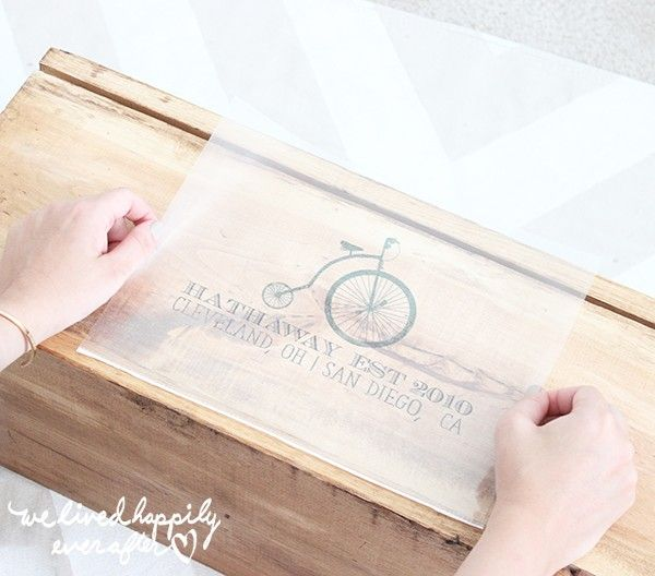 Home Printer Ink Image Transfers For Diy Signs A New Easier