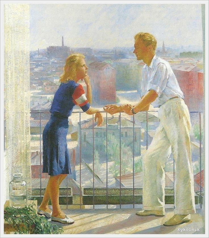 «Впечатления дороже знаний...» - Изобразительное искусство СССР. Свидание... 2