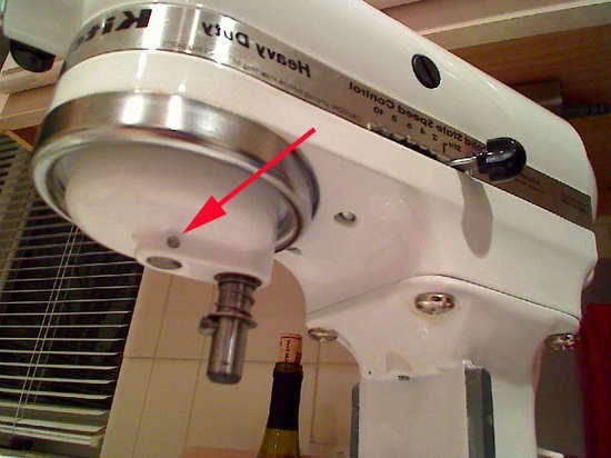 just in case... how to fix kitchen aid mixer