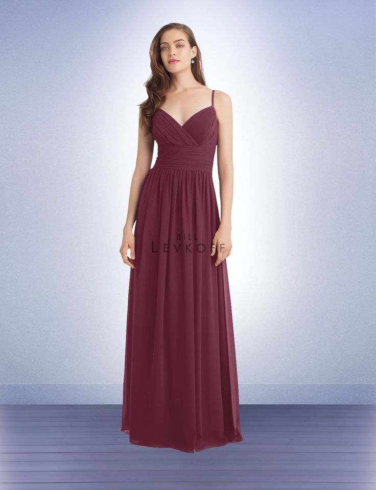 Color: Wine Bridesmaid Dress Style 1113 - Bridesmaid Dresses by Bill Levkoff