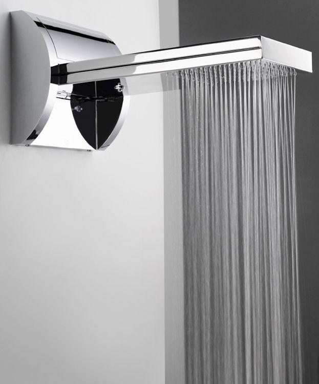 Unusual Shower Heads | ... Rain Shower By Bossini 1 E1281992878993 Hi Tech  Shower