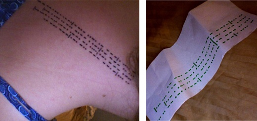 morse code tattooTattoo Design