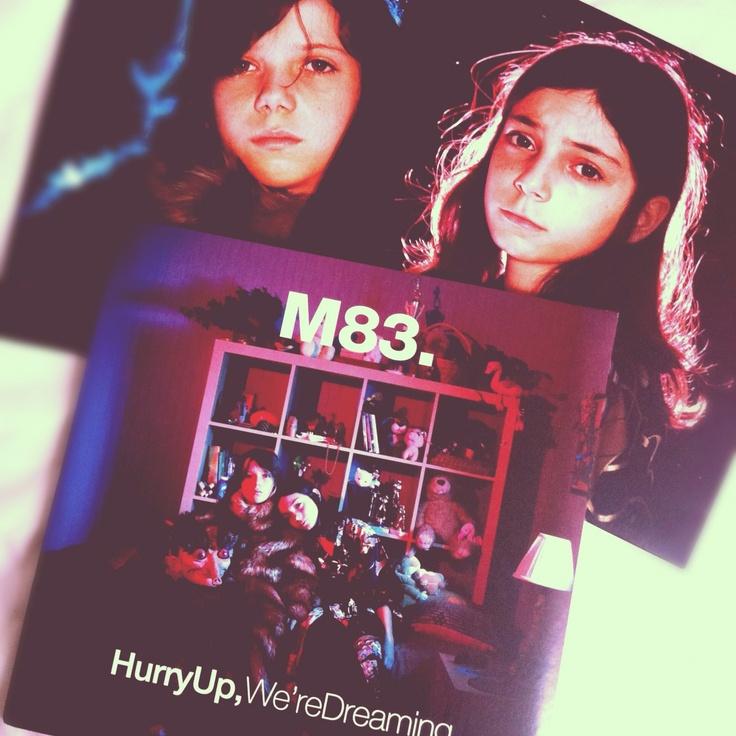 M83 Hurry Up We Re Dreaming Vinyl O L D D U S T Y Pinterest