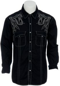 Rock & Roll Cowboy Men's L/S Western Snap Shirt B2S9188