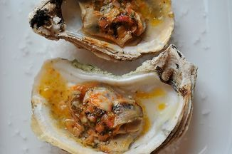 Grilled (or Broiled) Oysters with a Sriracha Lime Butter Recipe on Food52 recipe on Food52
