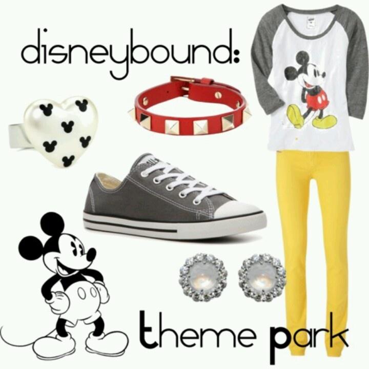 Theme Park fashion from Walt Disney World and Dsineyland
