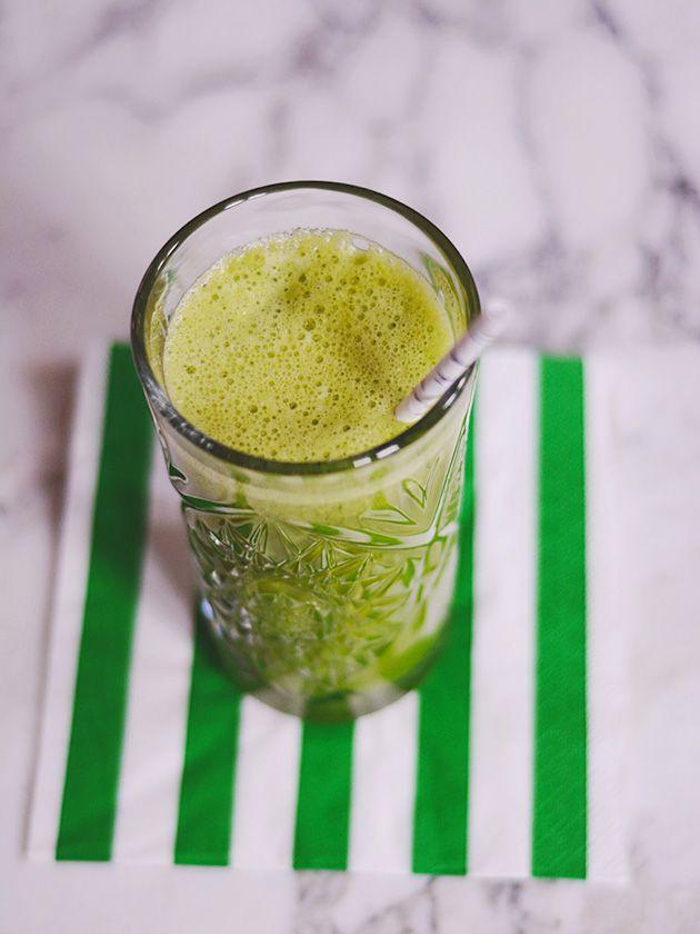 Emily Salomon » Grøn juice med fennikel, ananas og grønkål